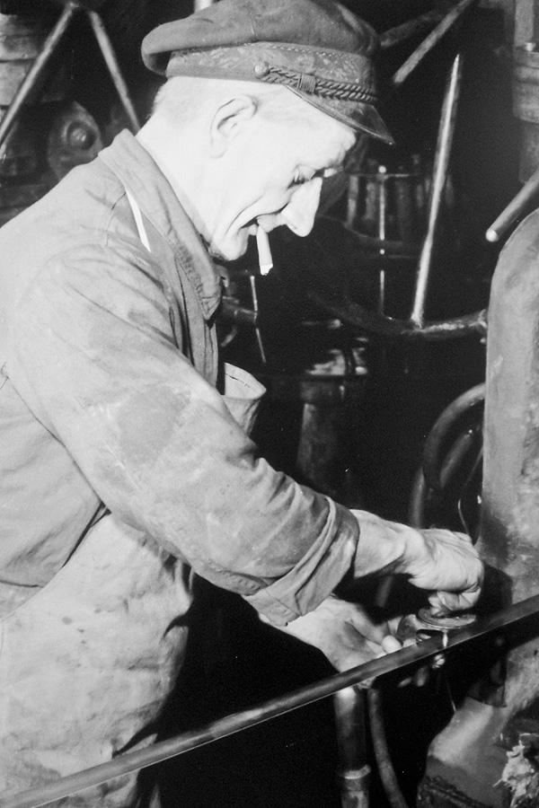 Walzwerk Arbeiter Historie